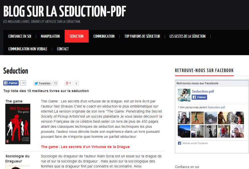 blog seduction