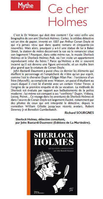 Sherlock Holmes Detective Consultant