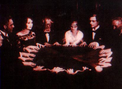 La communication spirite  dans Haute Magie seance
