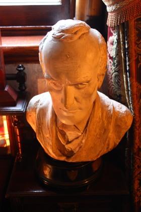 Buste Sherlock Holmes au Sherlock Holmes Museum